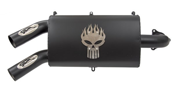 SLP Performance Slip-On Muffler for 2016-17 RZR Turbo