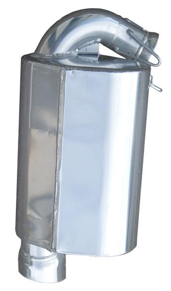 2011-12 800 HO CFI 2 Lightweight Silencer