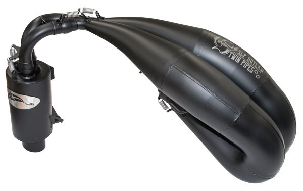 Outlaw Twin Pipes for Polaris 850 RMK/SKS155