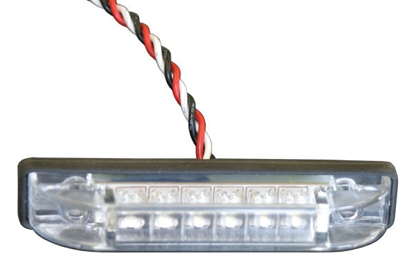 """5/8"""" x 3 1/4"""" LED Light with Clear Lens"""