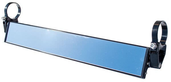 Wide Panoramic Rearview Mirrors by Axia Alloys