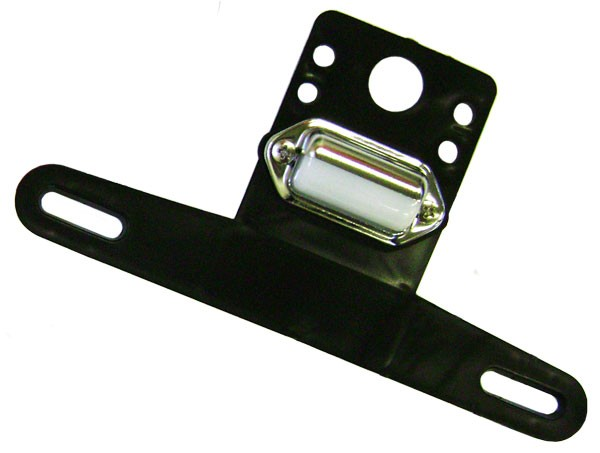Optional License Plate Bracket with Light