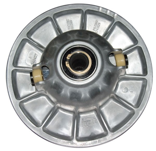 TEAM Tied Driven Clutch Conversion from Square Block Sliders to Round Roller Polaris UTV