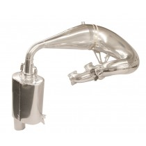 (Second) 2012-16 M8, M8000, F8, XF 800, XF 8000 & ZR 8000 Single Pipe Kit-Polished Ceramic