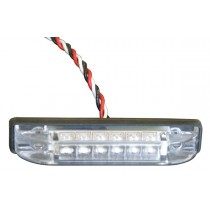 "5/8"" x 3 1/4"" LED Light with Clear Lens"