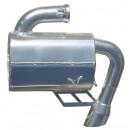 SLP Lightweight Silencer 2008-10 800 HO CFI 4