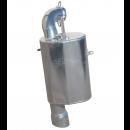 SLP Lightweight Silencer for 2021-22 850 Matryx