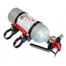 Quick Release Fire Extinguisher Mount by Axia Alloys