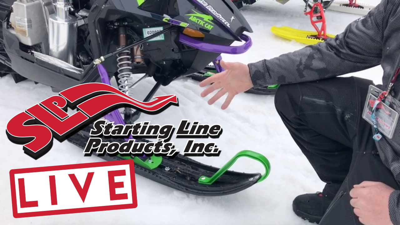 Starting Line Products LIVE Arctic Cat M8000 Alpha Cat