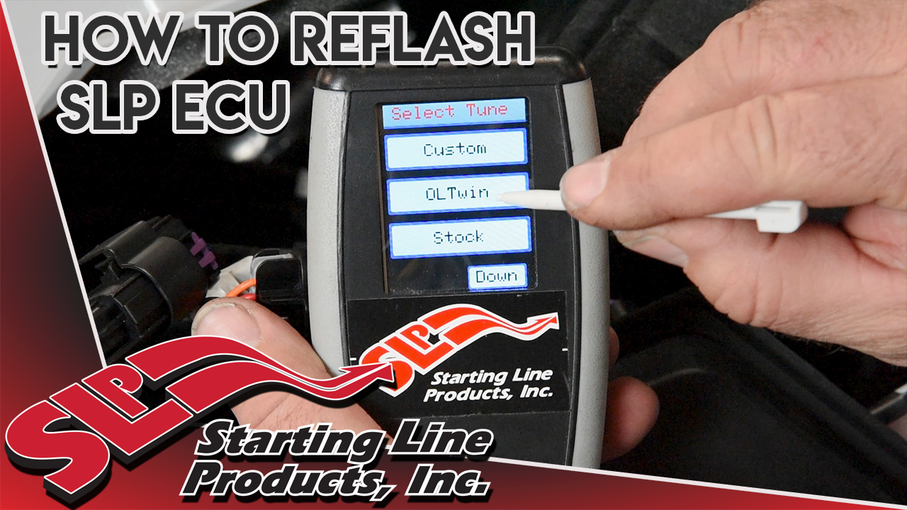 How to Reflash SLP ECU for Polaris 850