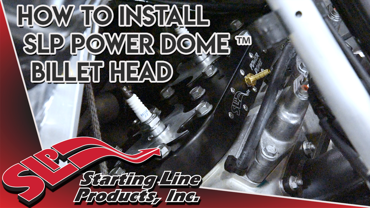 SLP Power Dome Billet Heads for Arctic Cat 800