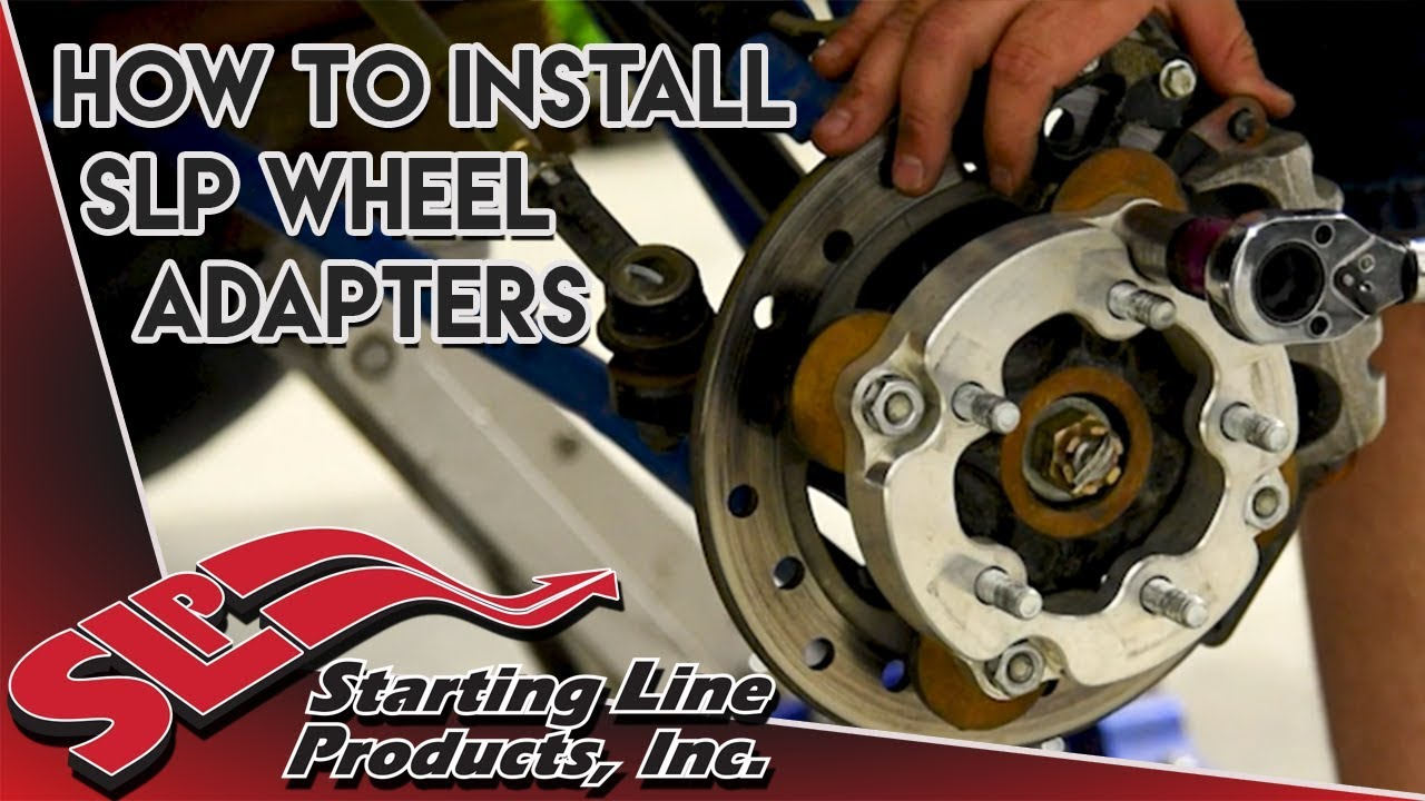 How to Install SLP Wheel Adapters