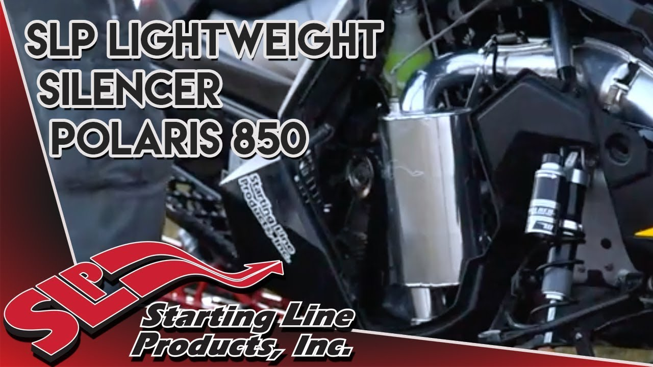 Polaris 850 Lightweight Silencer Sound Clip