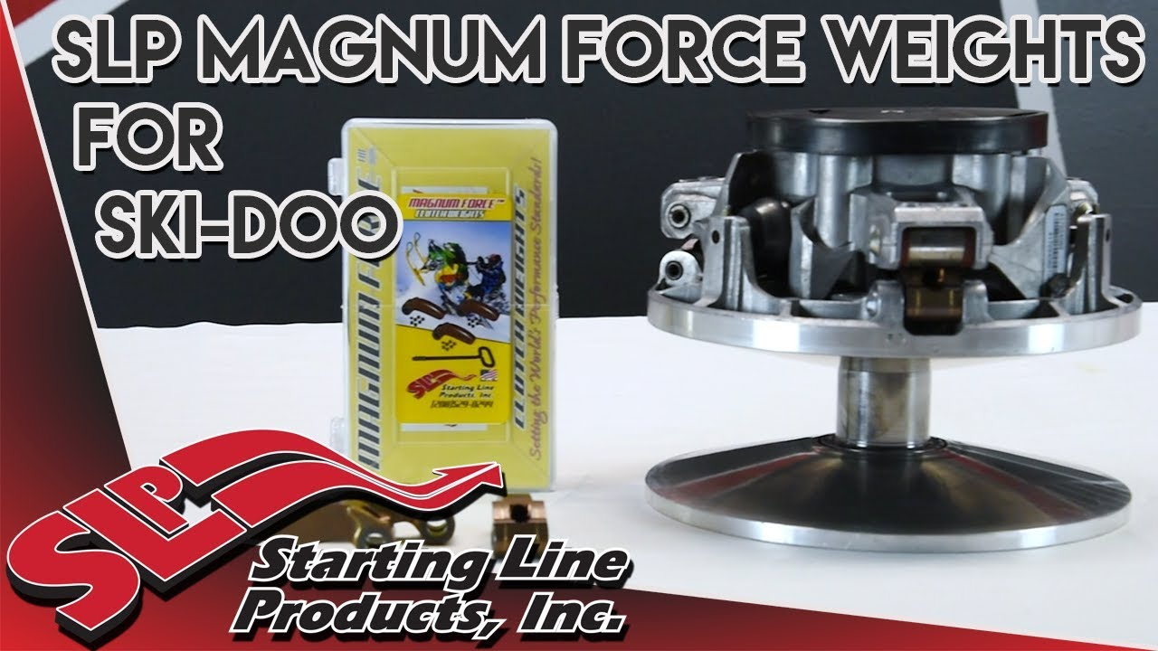 Magnum Force Weights for Ski-Doo Clutch Part Overview