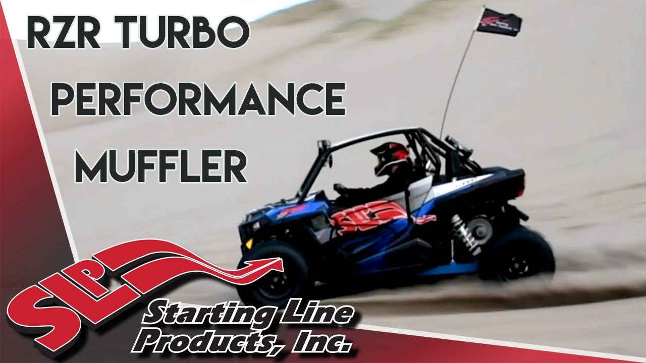 RZR Turbo Performance Muffler Product Overview