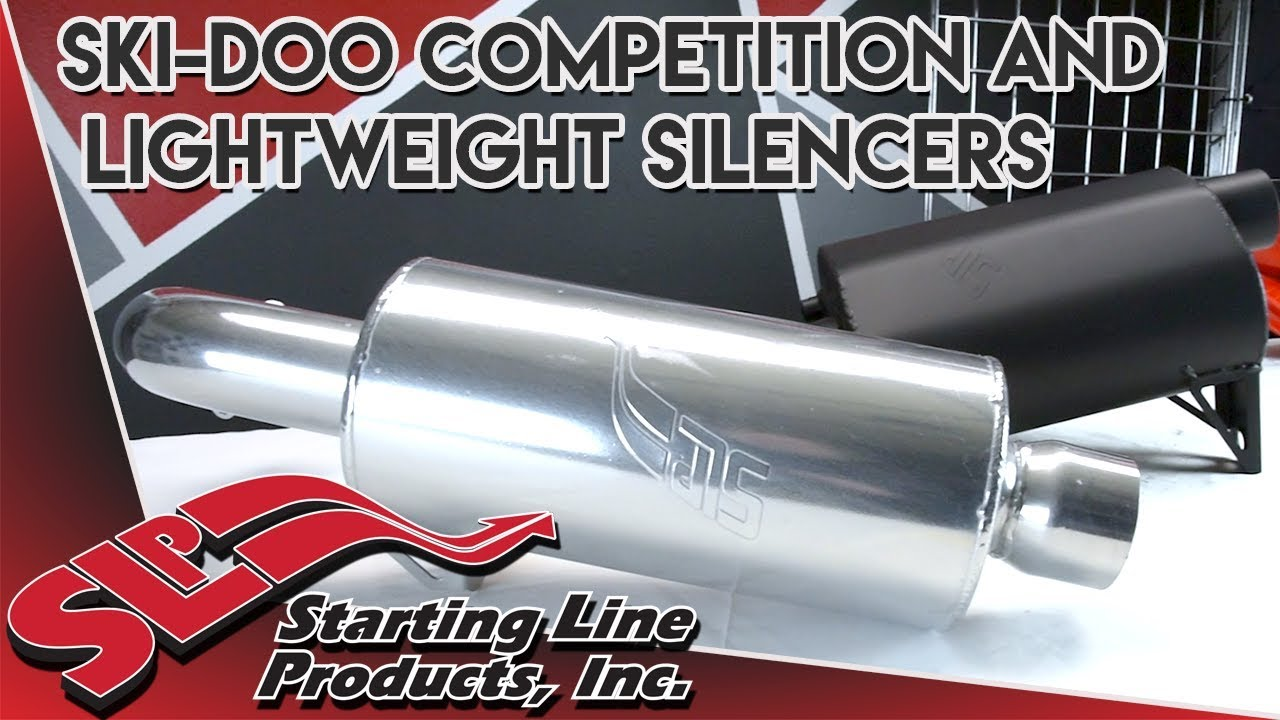 Ski-Doo Competition and Lightweight Silencer Part Overview