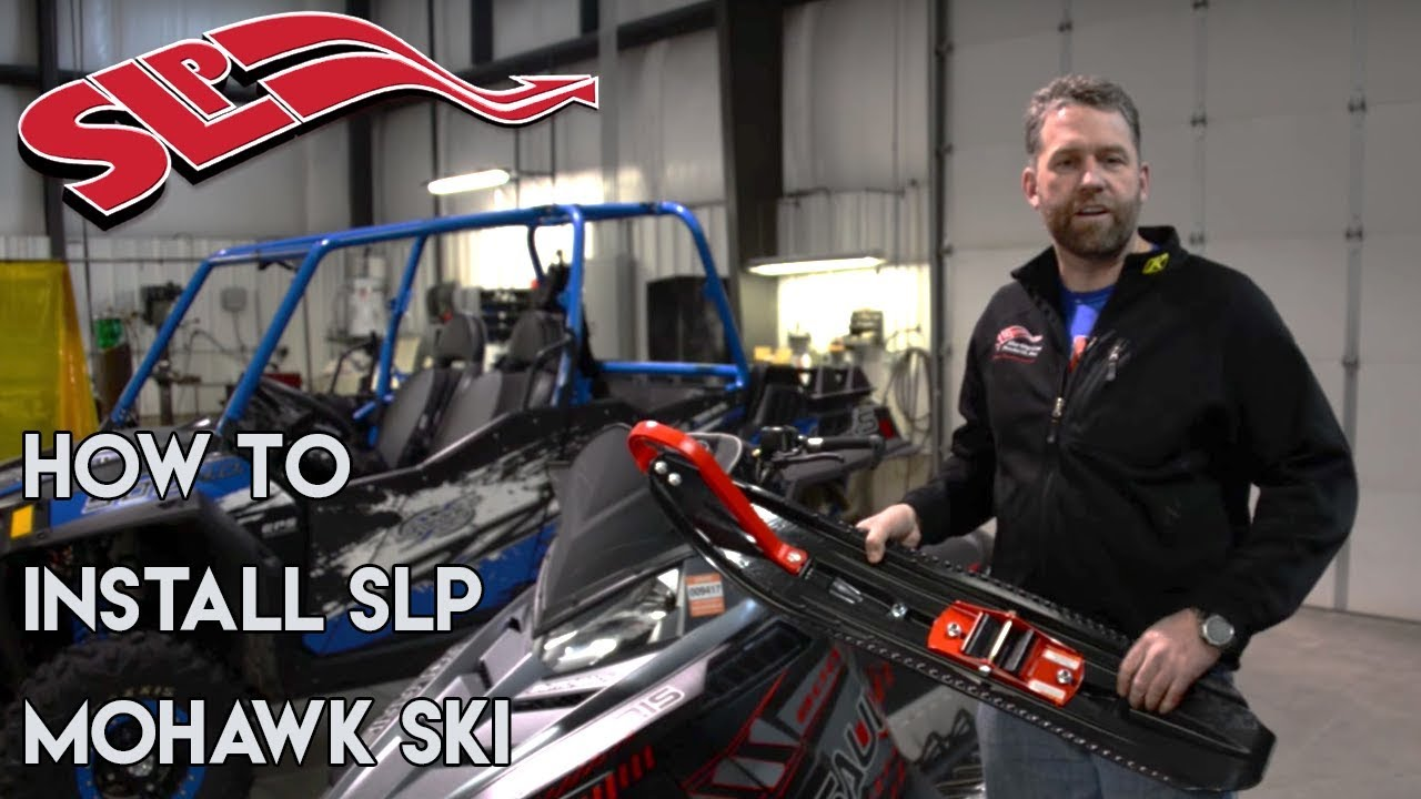 How to Install SLP Mohawk Skis