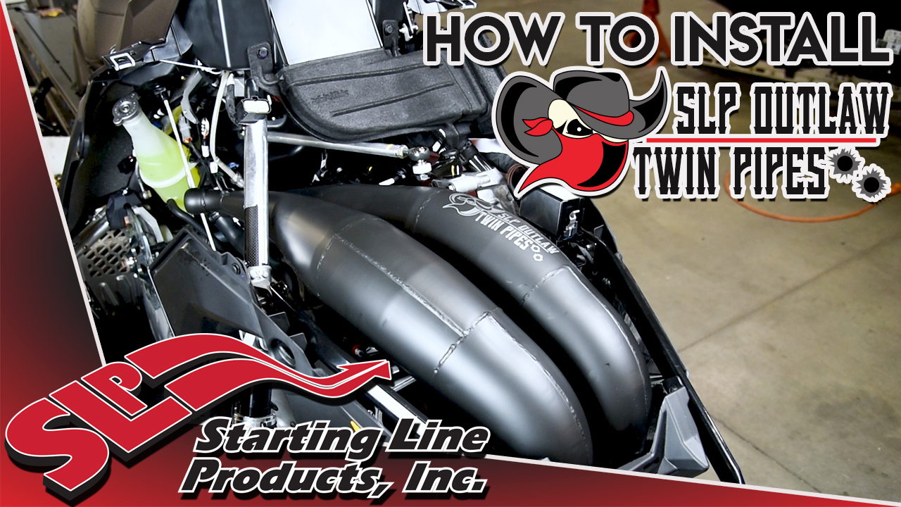 How to Install SLP Outlaw Twin Pipes