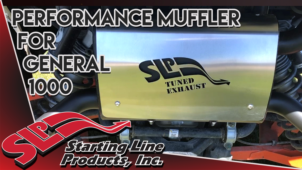 Performance Muffler for 2016-2018 General 1000 Sound Clip
