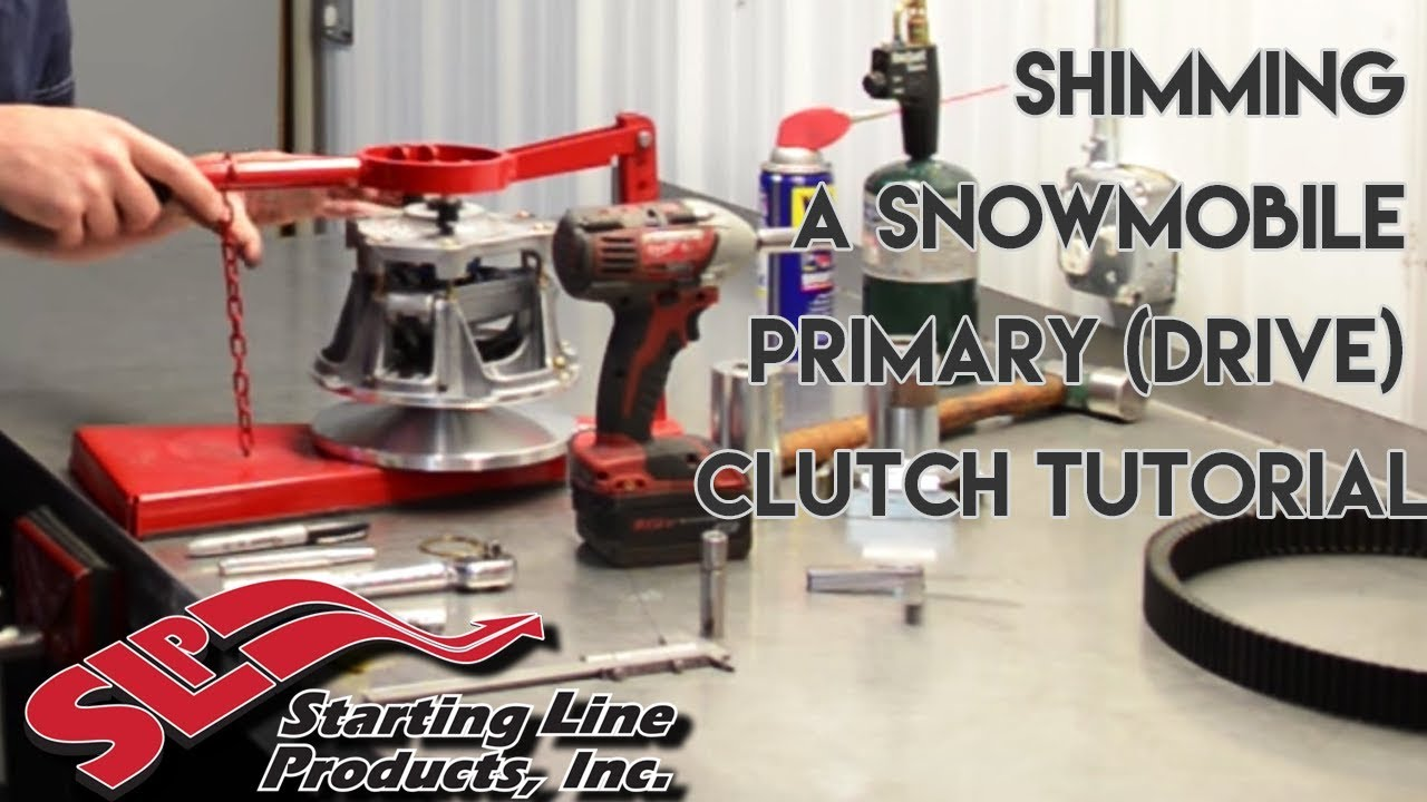How to Shim a Snowmobile Primary Drive Clutch