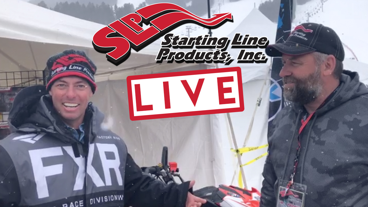 Starting Line Products LIVE Ski-Doo with Justin Sheaff!!
