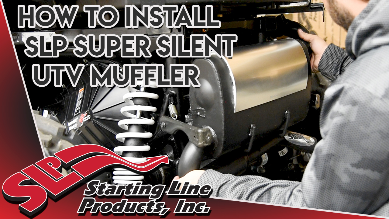 How to Install SLP Super Silent Muffler for 2015-19 RZRs